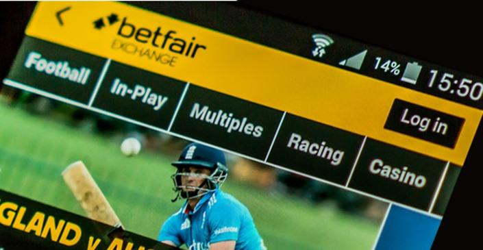 Betfair mobile app